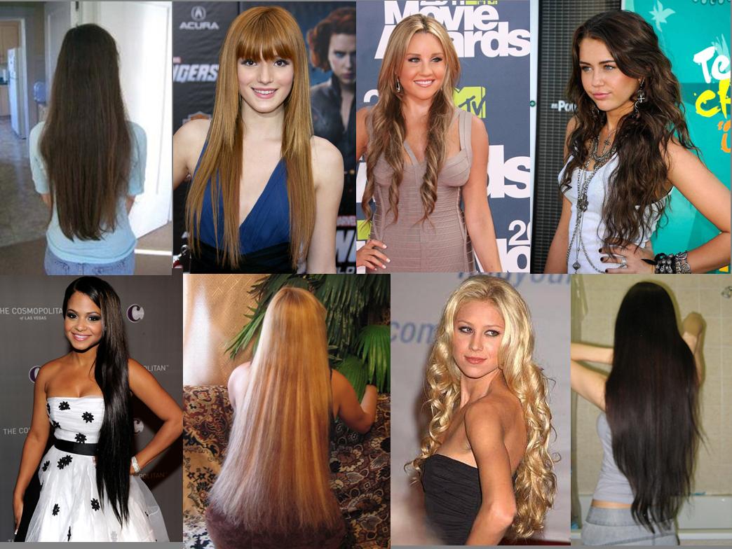 Кому идут длинные волосы