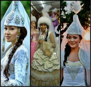 Казахские невесты фото