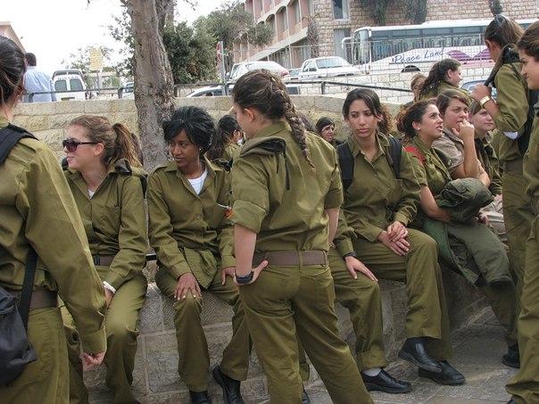 Армия израиля девушки фото